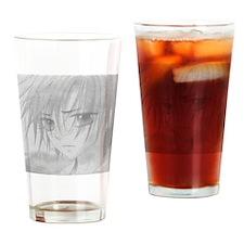 Sad Natsume Drinking Glass