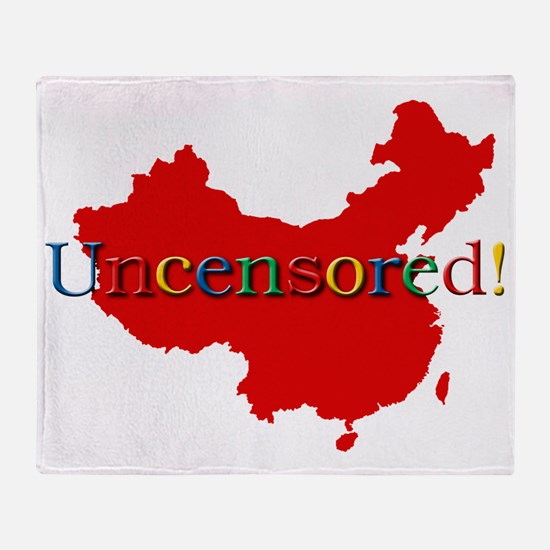 china-uncensored-search Throw Blanket