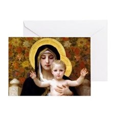 Virginofthelillies Greeting Card