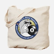 8-Ball Blind Squirrel Tote Bag