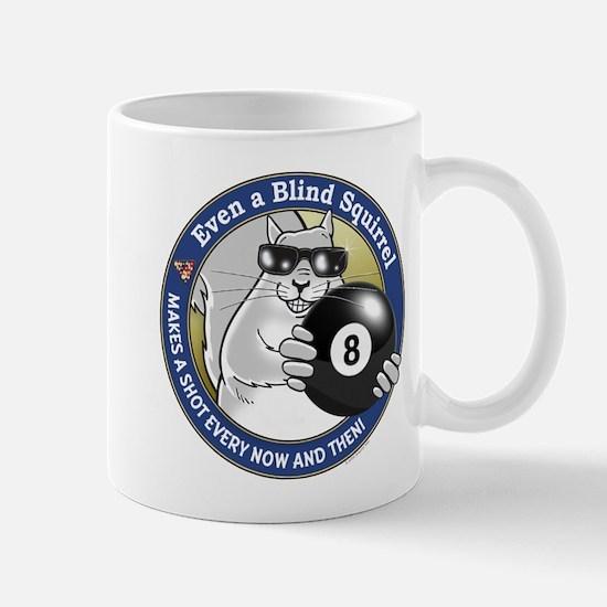 8-Ball Blind Squirrel Mug