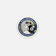 8-Ball Blind Squirrel Mini Button
