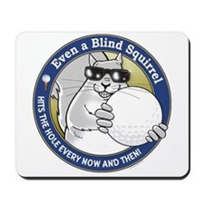 Golf Blind Squirrel Mousepad