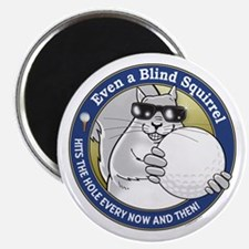 Golf Blind Squirrel Magnet