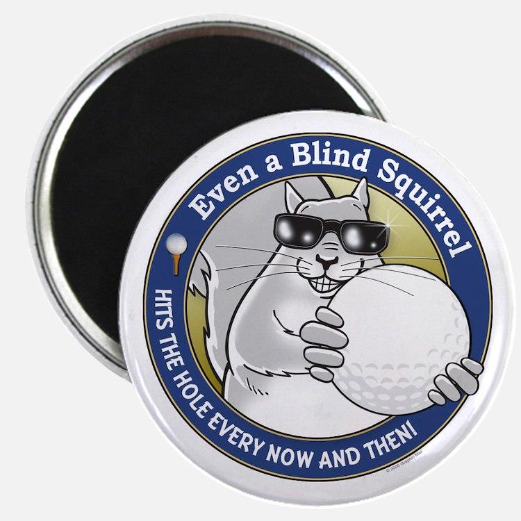 Golf Blind Squirrel Magnet