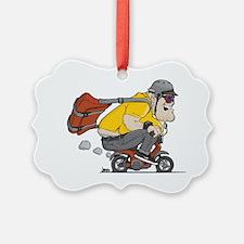 fat_guy_vector Ornament