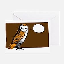 OwlCard Greeting Card