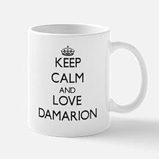 Keep Calm and Love Damarion Mugs