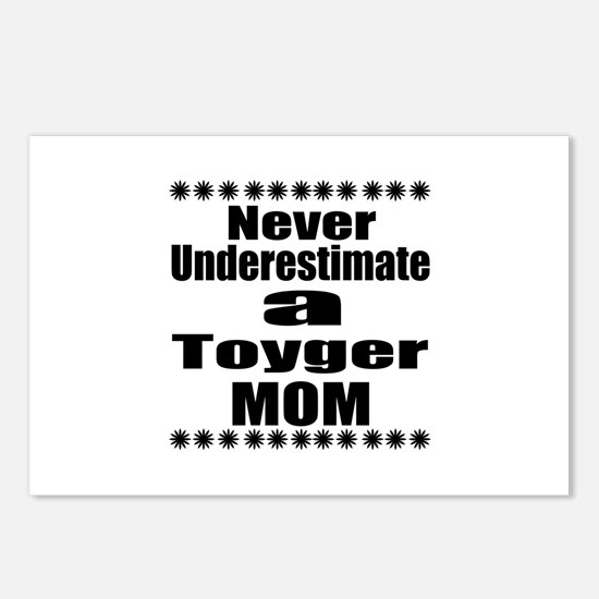 Never Underestimate toyge Postcards (Package of 8)