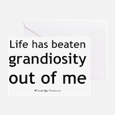 grandiosity_sq2 Greeting Card