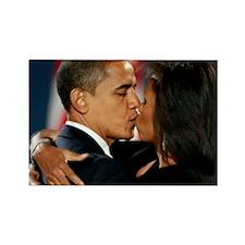 ART Obama first lady v1 Rectangle Magnet