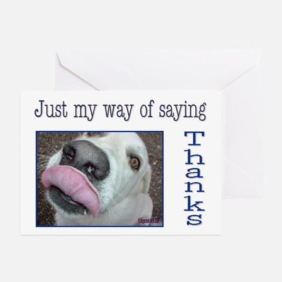 Big Kiss from Roy Thank You Cards (Pk of 10)