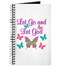 LET GO AND LET GOD Journal