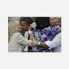 ART Obamas swing Bidens Rectangle Magnet