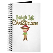 1st Christmas Cowboy Journal