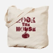 RockTheHouseRed Tote Bag