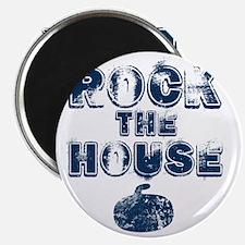 RockTheHouseBlue Magnet