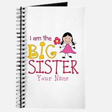 Stick Figure Flower Big Sister Journal