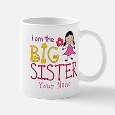 Stick Figure Flower Big Sister Mug
