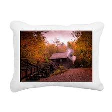 Great Smoky Mtns Rectangular Canvas Pillow