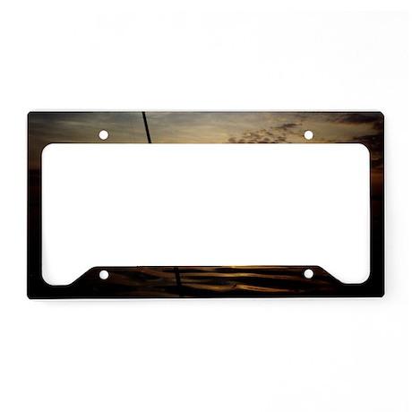 Sunrise fishing license plate holder by admin cp16942482 for Fishing license plate