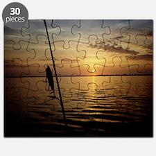 Sunrise Fishing Puzzle