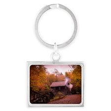 Great Smoky Mtns Landscape Keychain