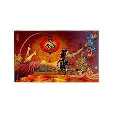 phoenix-poster-lg 3'x5' Area Rug