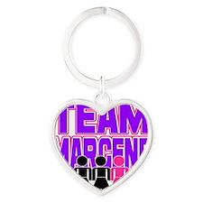 MARGENE Heart Keychain