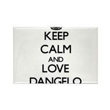 Keep Calm and Love Dangelo Magnets