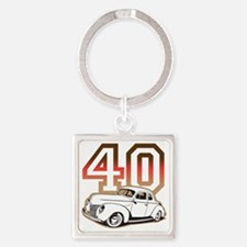 40 ford color Square Keychain
