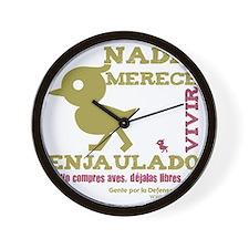 ave1 Wall Clock