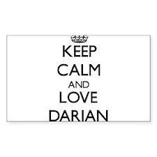 Keep Calm and Love Darian Decal