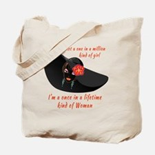Once in a Lifetime Woman Tote Bag