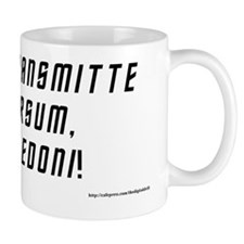 Me Transmitte Sursum (Beam me up, Scott Small Mug