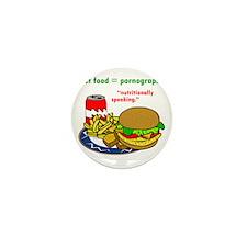 Fast Food Mini Button