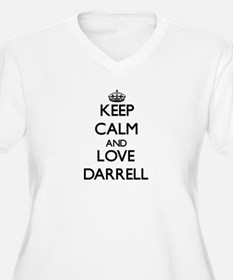 Keep Calm and Love Darrell Plus Size T-Shirt