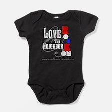 Love Thy Neighbor Baby Bodysuit