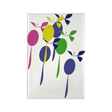 Baloons1 Rectangle Magnet