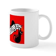 catrack four kitties Magnet Small Mug