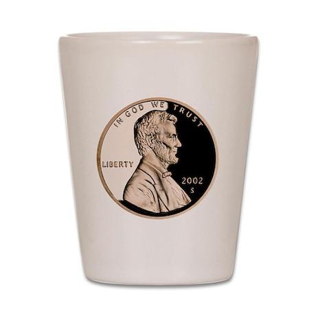 Penny Shot Glass