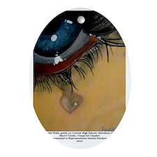 2-3 Kelsie Wahl Oval Ornament