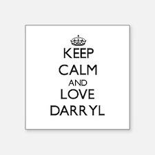 Keep Calm and Love Darryl Sticker