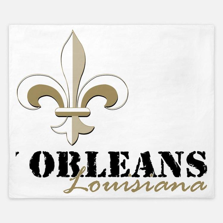 New orleans fleur de lis bedding new orleans fleur de lis duvet covers pillow cases more - Fleur de lis bed sheets ...