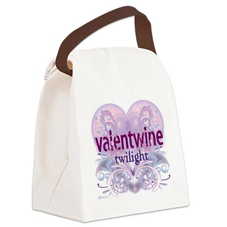 twilight be my valentwine 2 Canvas Lunch Bag