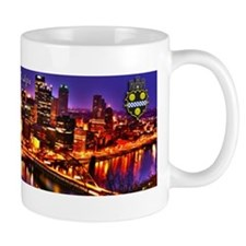 Pittsburgh City of Bridges Mugs