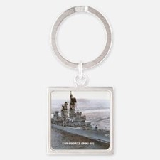 coontz ddg small poster Square Keychain