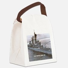 coontz ddg small poster Canvas Lunch Bag