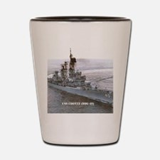coontz ddg small poster Shot Glass