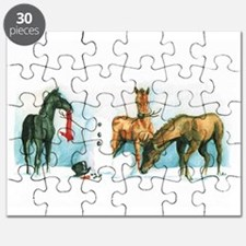 Snow Foals 2008 Puzzle